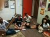 John's CSSSA students trying some North Indian instruments (1)