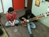 John's CSSSA students trying some North Indian instruments (4)